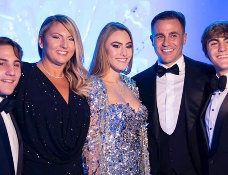 Fabio Cannavaro super papà - SportMeteoweek