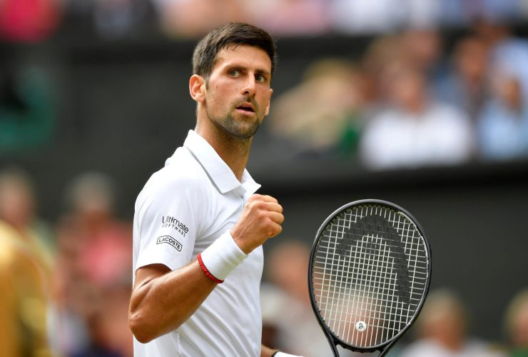 Novak Djokovic il segreto di ogni gara - SportMeteoweek