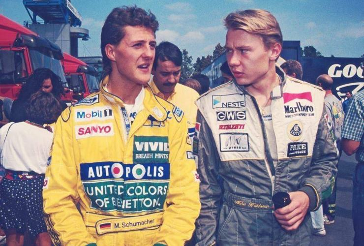 Schumacher contro Hakkinen - SportMeteoweek