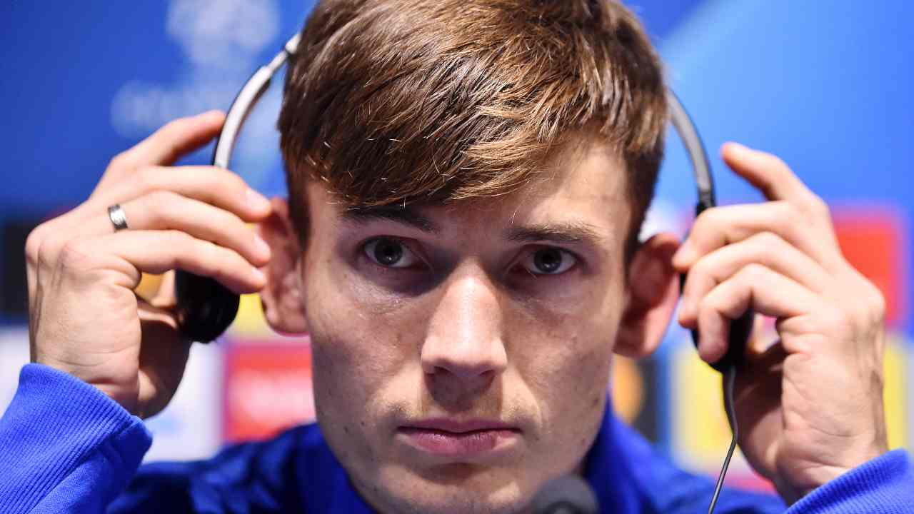 Atalanta, Marten De Roon in conferenza stampa (Photo by Nathan Stirk/Getty Images)