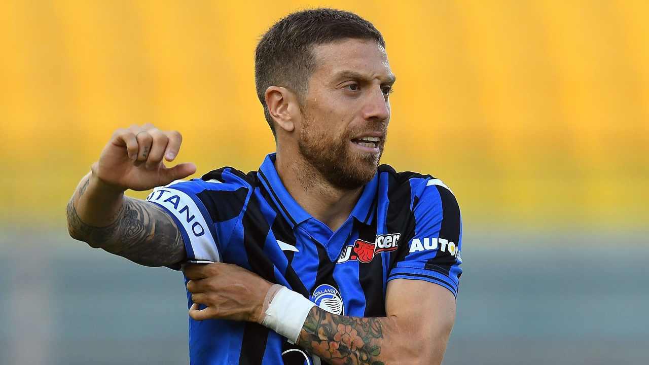 Atalanta, il capitano Papu Gomez in campo con il Parma, , 28 luglio 2020 (Foto di Alessandro Sabattini/Getty Images)