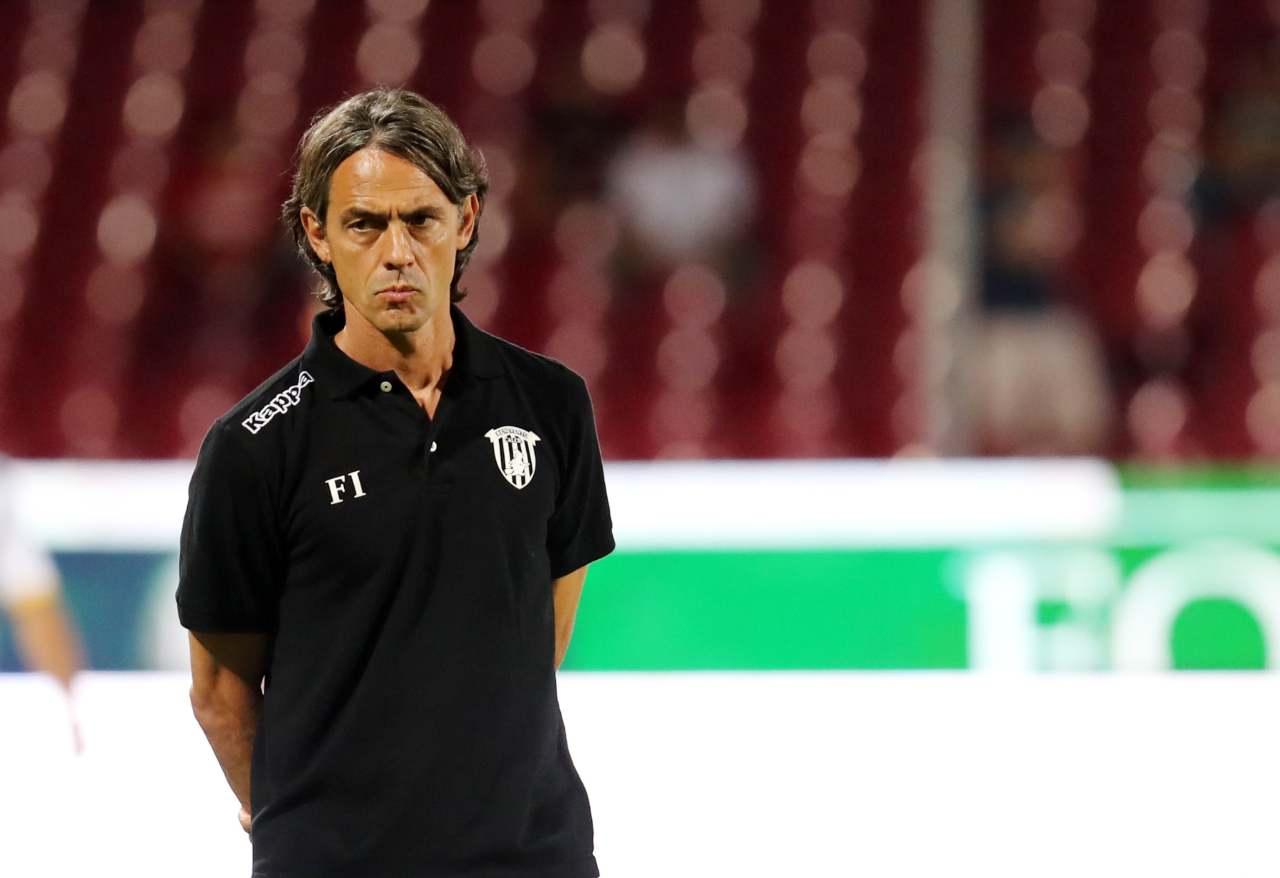 Benevento, l'allenatore Pippo Inzaghi (Foto di Francesco Pecoraro/Getty Images)