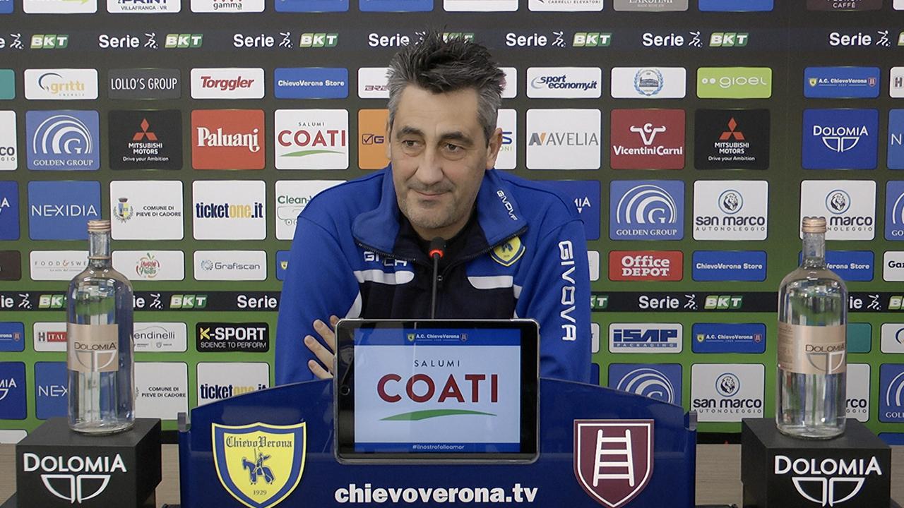 Il tecnico del Chievo Verona Alfredo Aglietti (foto © AC Chievo Verona)