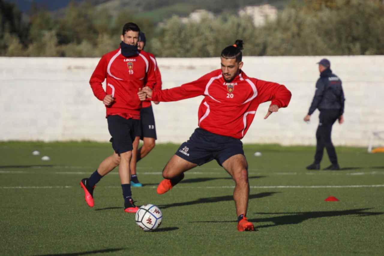 Daniele Sciaudone e Mohamed Bahlouli