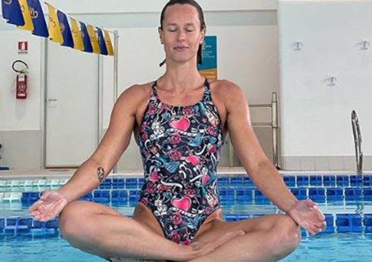 Federica Pellegrini dopo il nuoto - SportMeteoweek