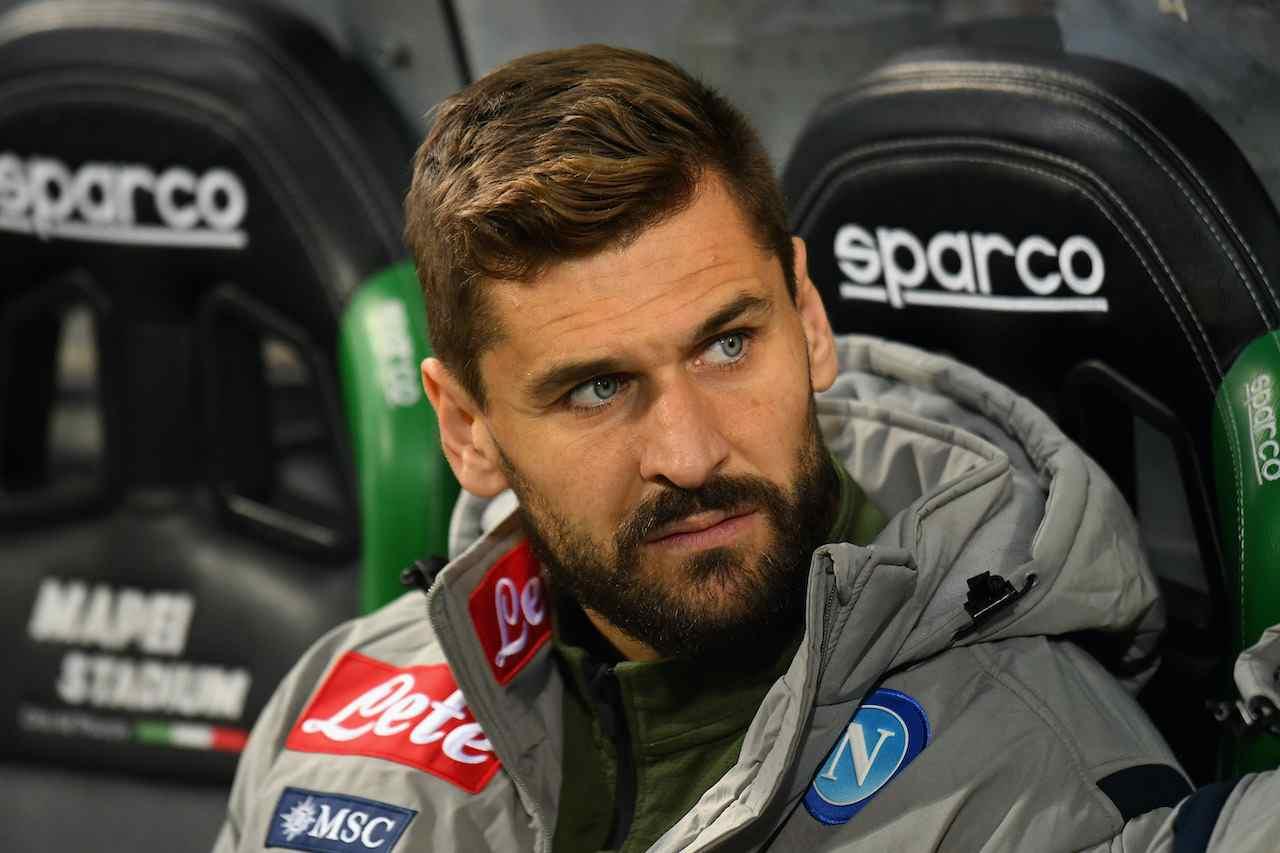 Fernando Llorente, attaccante del Napoli. Getty Images