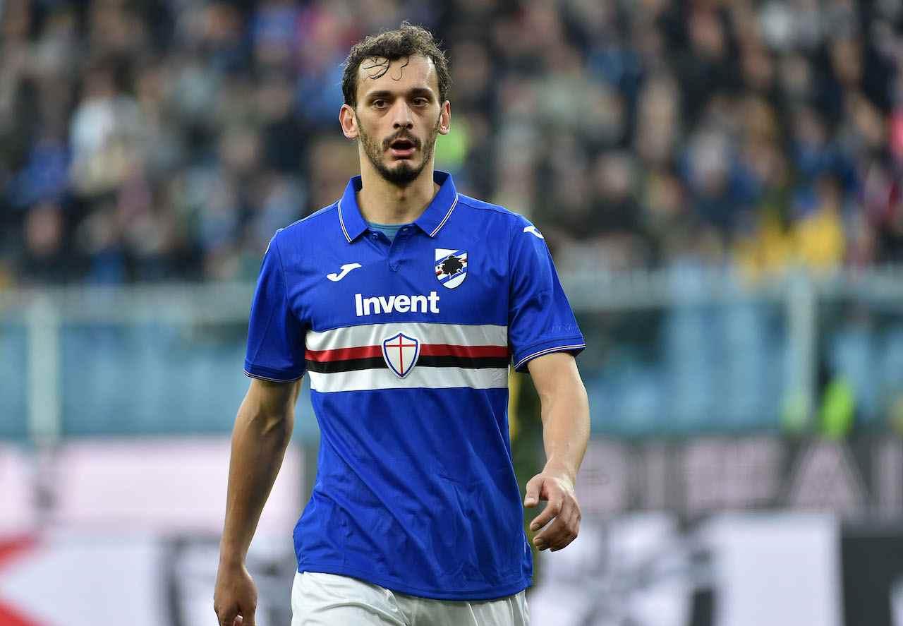 Manolo Gabbiadini, attaccante Sampdoria. Getty Images
