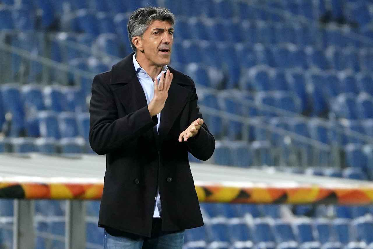 Imanol Alguacil, allenatore Real Sociedad. Getty Images