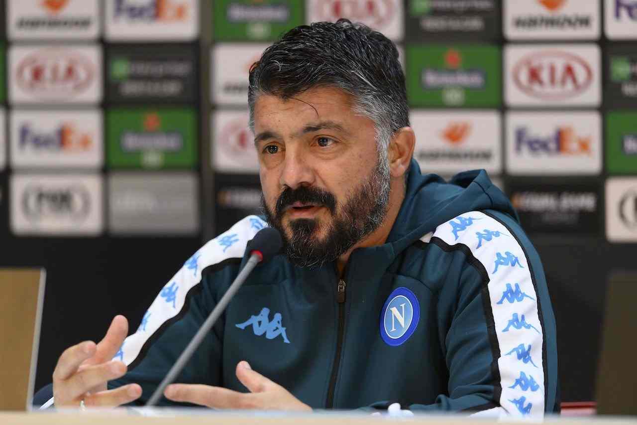 Gennaro Gattuso, allenatore Napoli. Getty Images