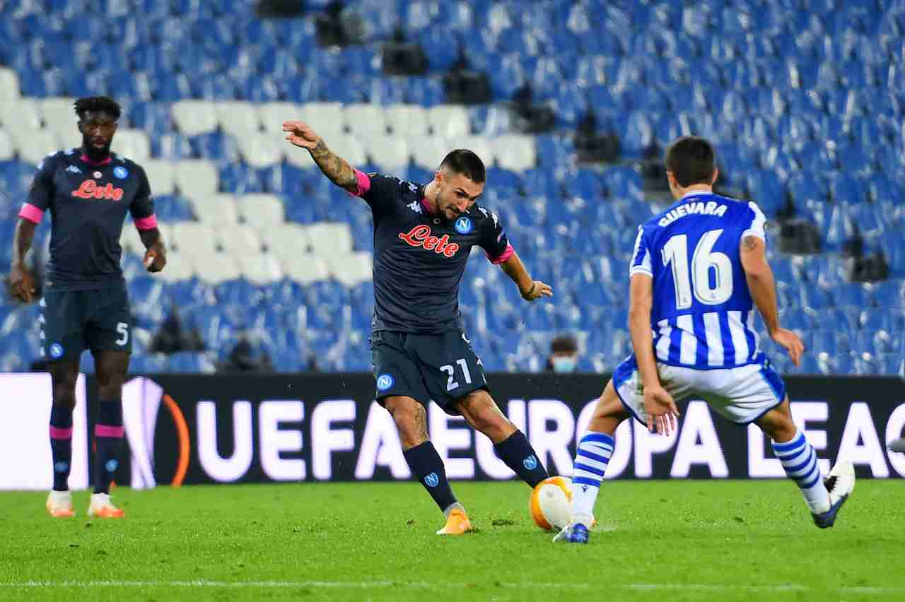 Matteo Politano, attaccante Napoli. Getty Images