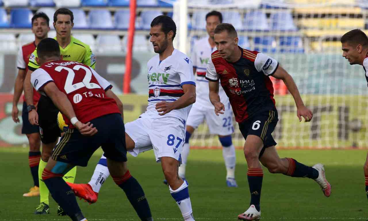 Sampdoria Candreva