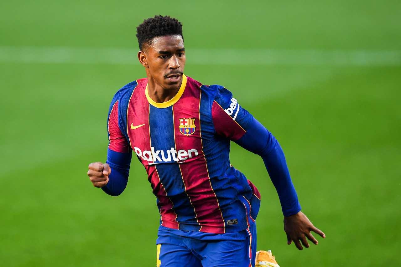 Junior Firpo, terzino del Barcellona. Getty Images