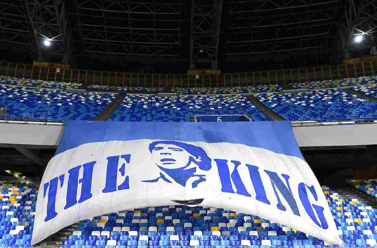 Stadio Diego Armando Maradona. Getty Images