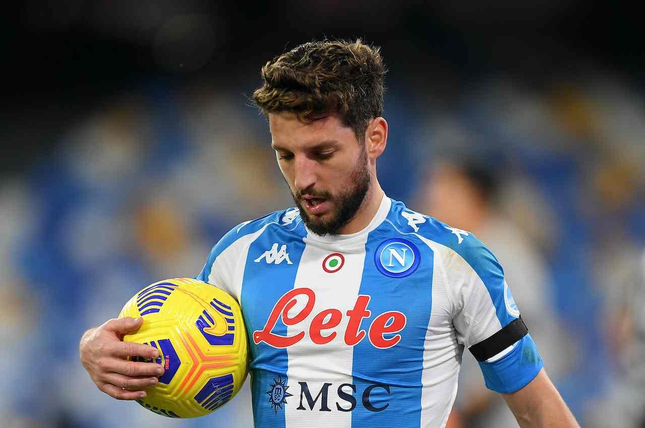 Dries Mertens, attaccante del Napoli. Getty Images