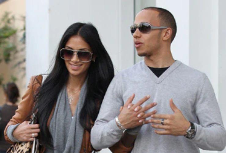 Lewis Hamilton e Nicole Scherzinger - SportMeteoweek