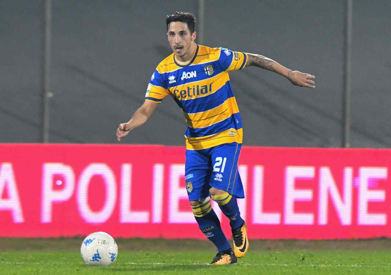 Parma. Matteo Scozzarella (Foto di Alessandro Sabattini/Getty Images)