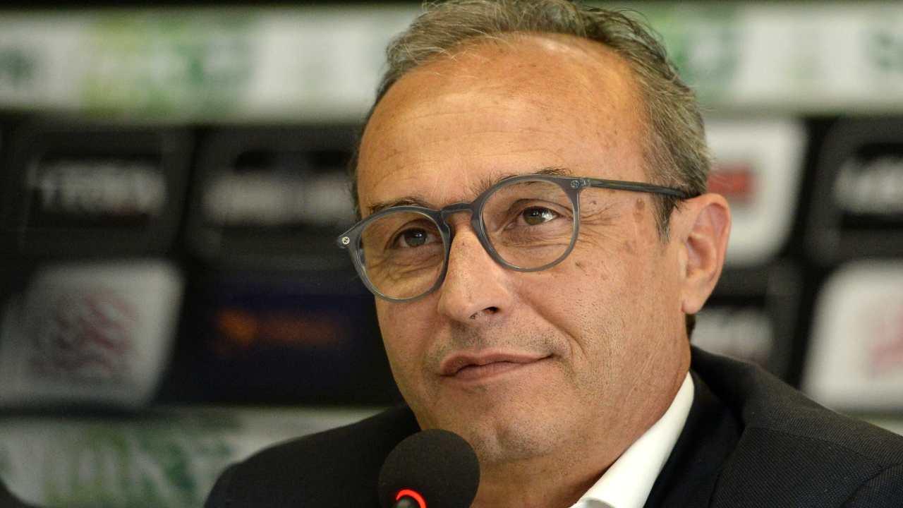 SPAL, il tecnico Pasquale Marino in conferenza stampa (foto © SPAL)