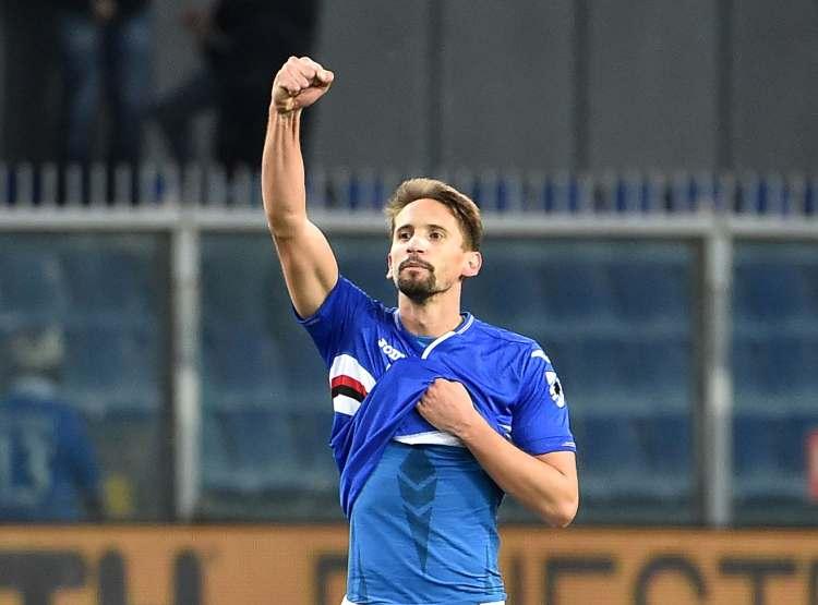 Gaston Ramirez, trequartista della Sampdoria (Foto di Paolo Rattini/Getty Images)