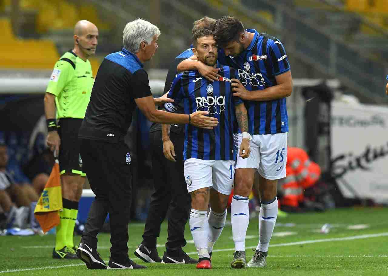Atalanta, Papu Gomez in trasferta con il Parma, 28 Luglio 2020 (Photo by Alessandro Sabattini/Getty Images)