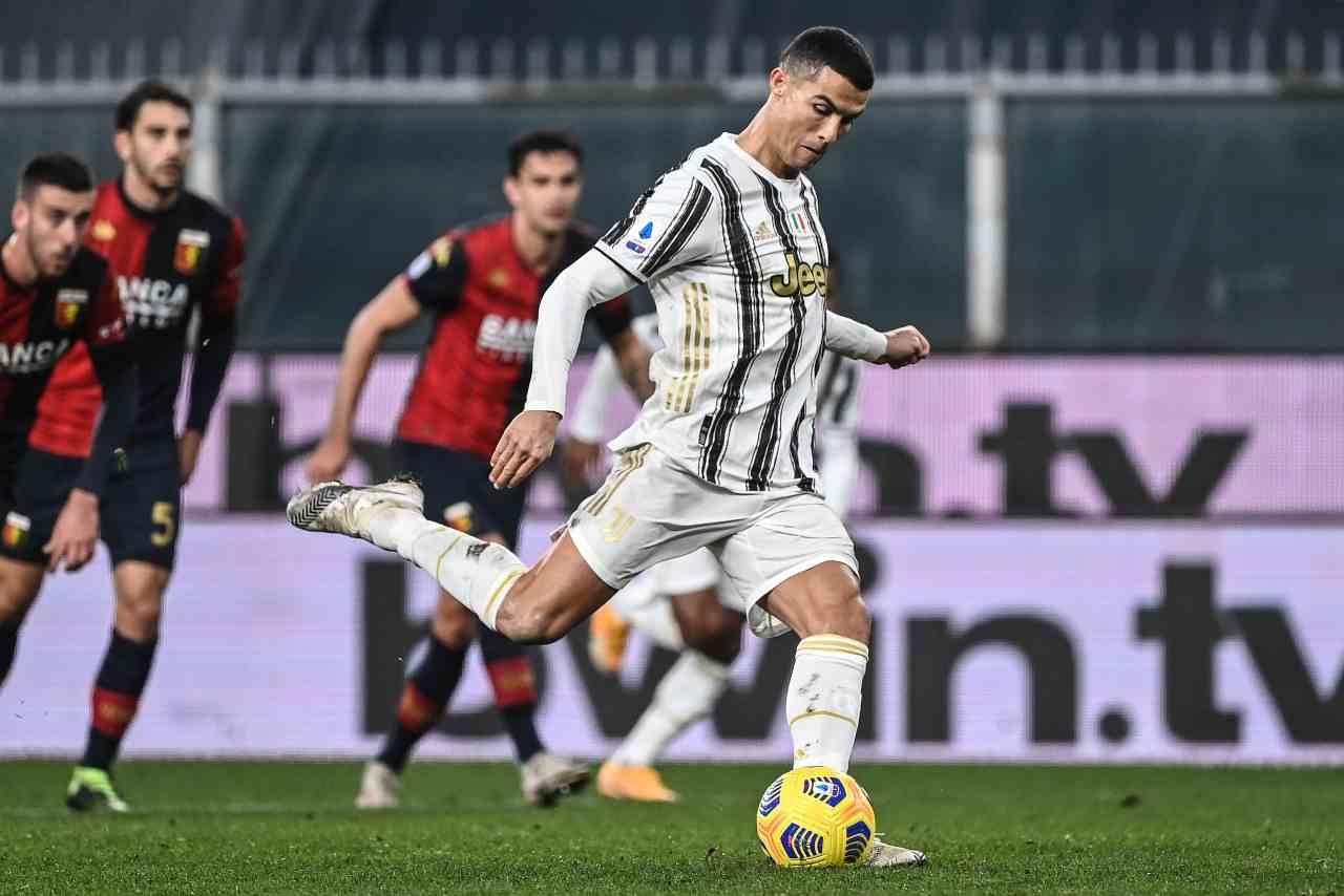 Genoa-Juventus Cristiano Ronaldo
