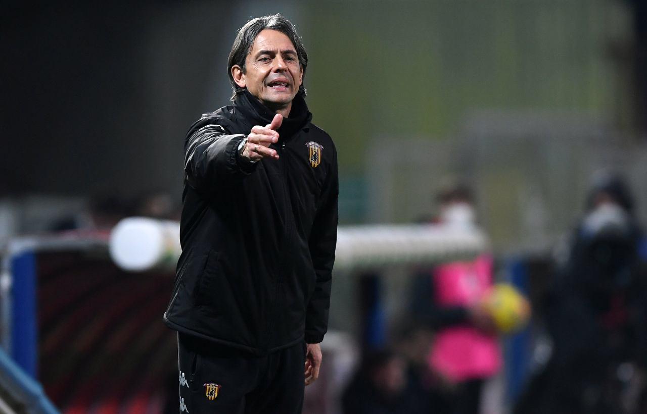 Filippo Inzaghi, allenatore del Benevento. Getty Images