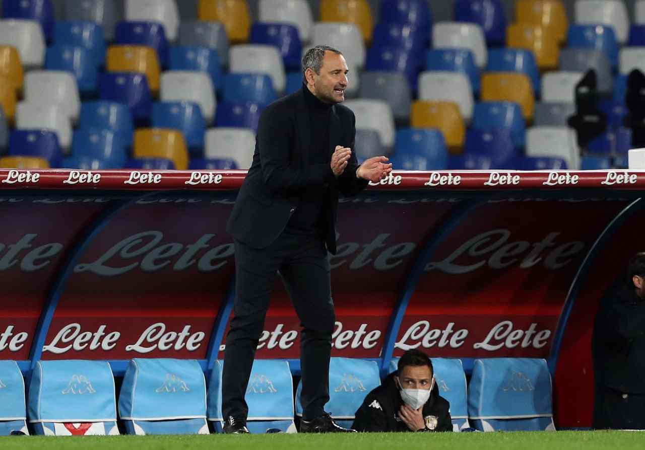 Maurizio D'Angelo, vice allenatore Benevento. Getty Images