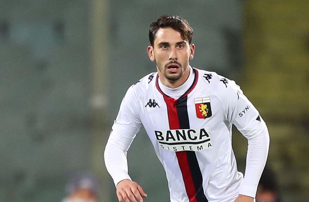 Edoardo Goldaniga del Genoa (Photo by Gabriele Maltinti/Getty Images)
