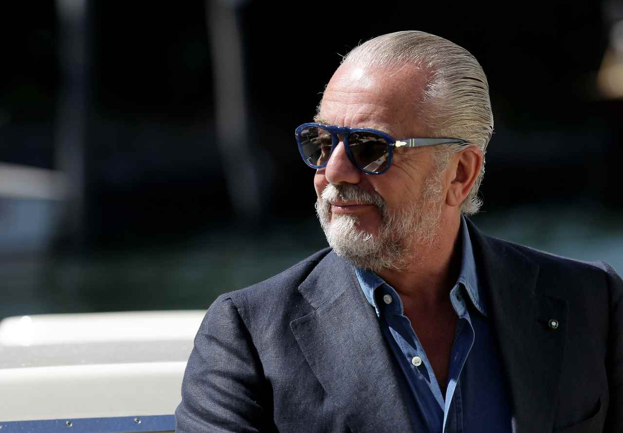 Aurelio De Laurentiis, presidente del Napoli. Getty Images