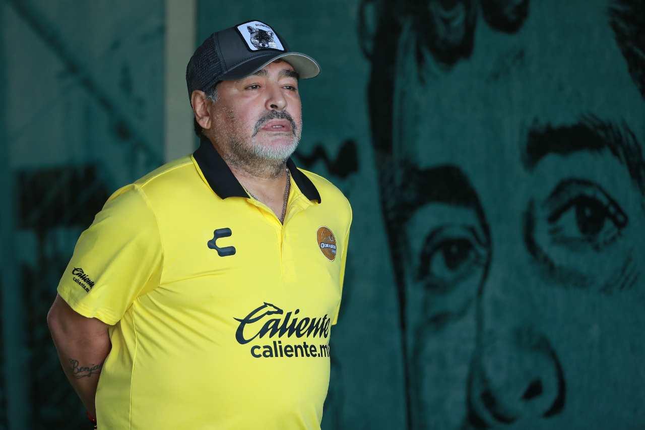 Diego Armando Maradona, leggenda argentina. Getty Images