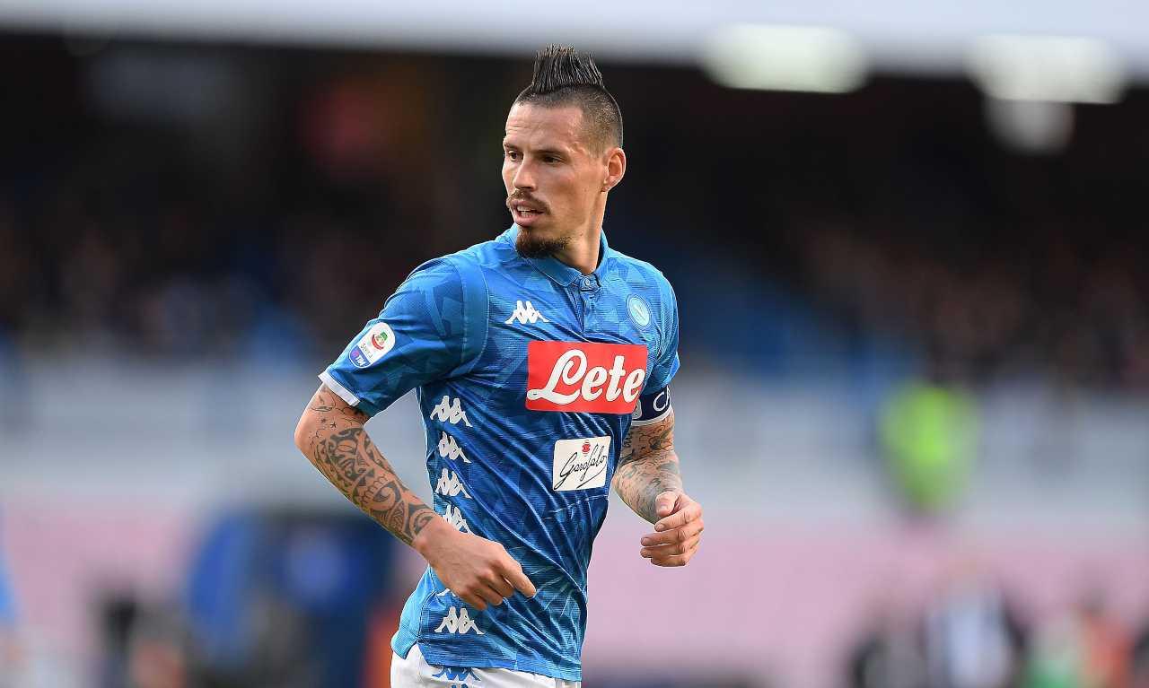 Marek Hamsik, ex capitano del Napoli. Getty Images