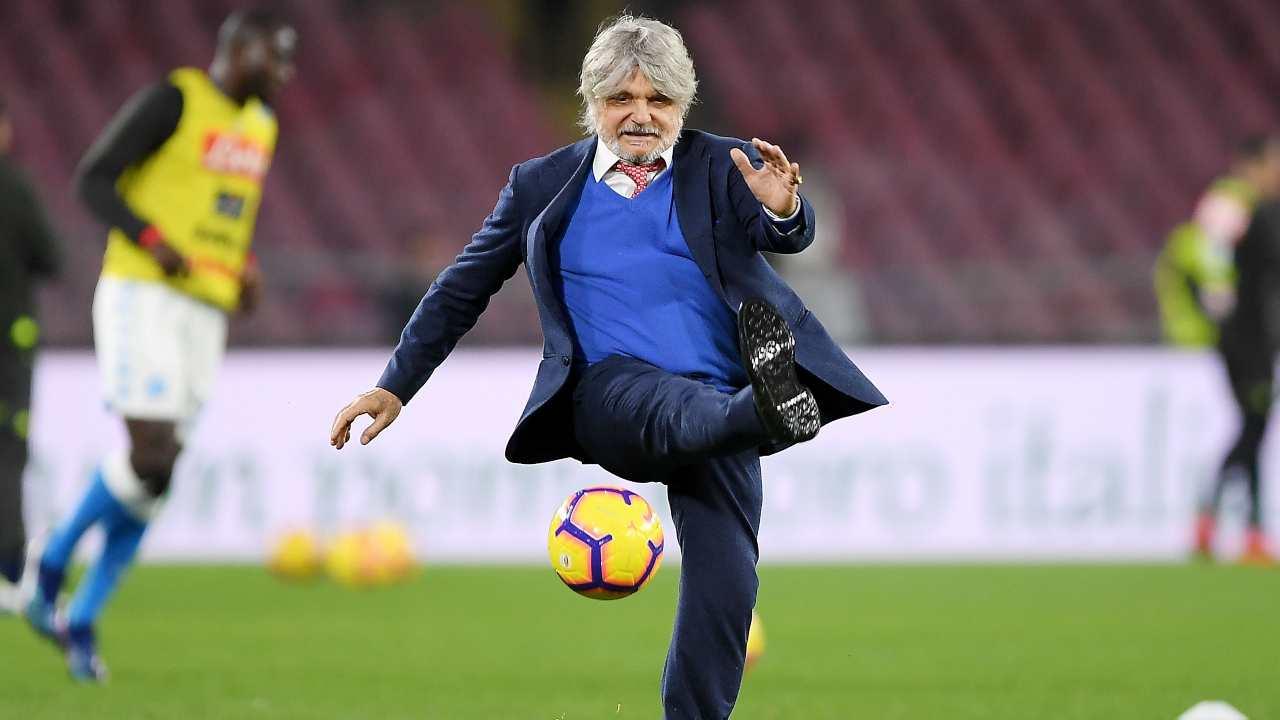 Sampdoria Ranieri rinnovo