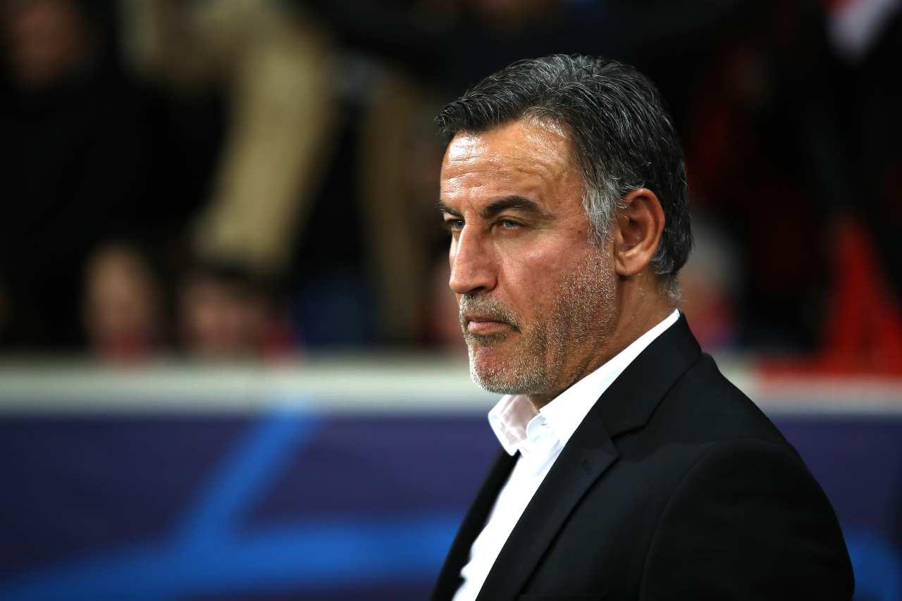 Christophe Galtier, allenatore del Lille. Getty Images