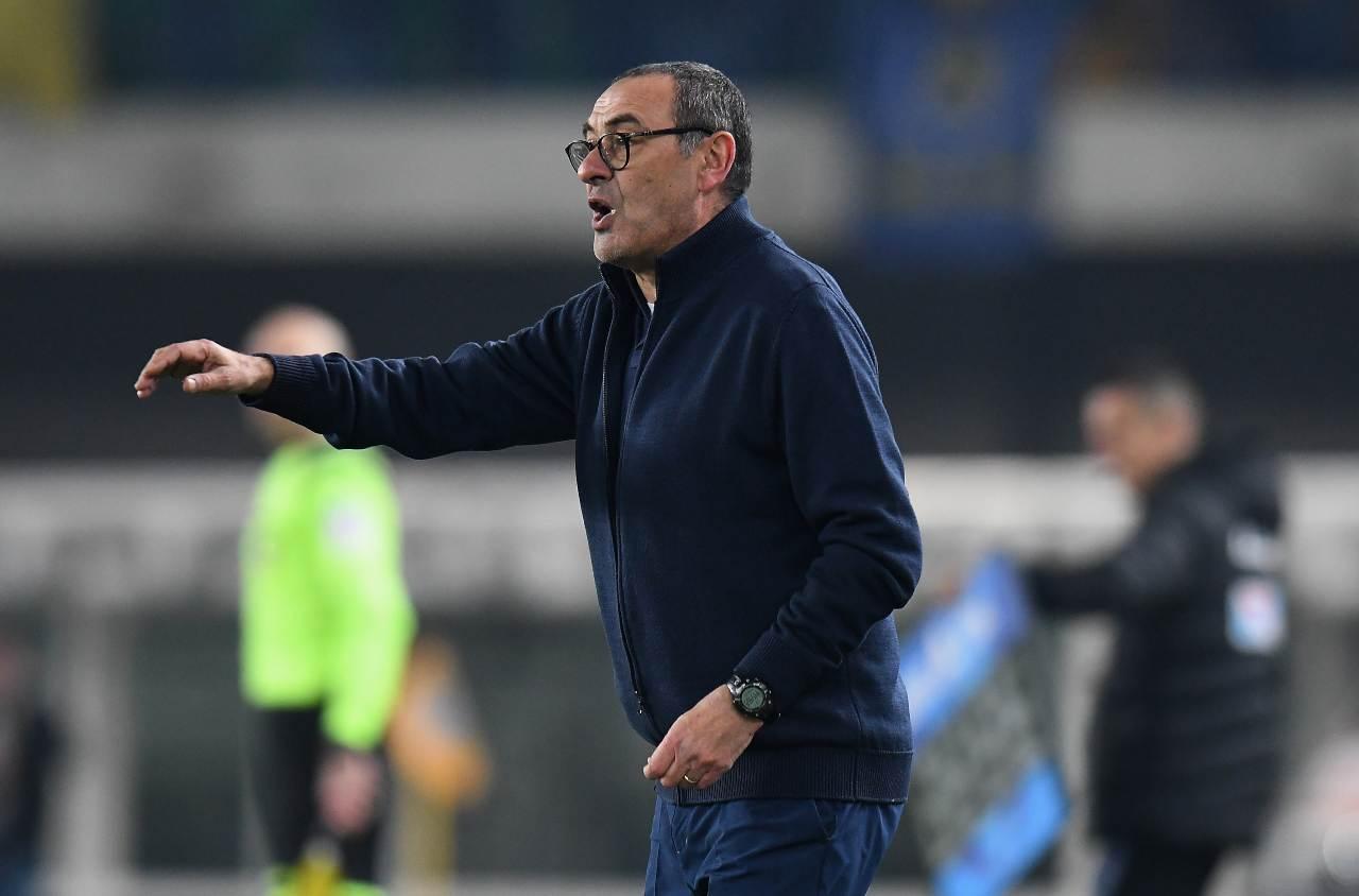 Maurizio Sarri, ex allenatore del Napoli. Getty Images