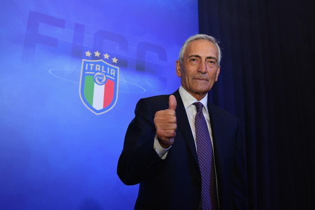 Gabriele Gravina, presidente della FIGC. Getty Images