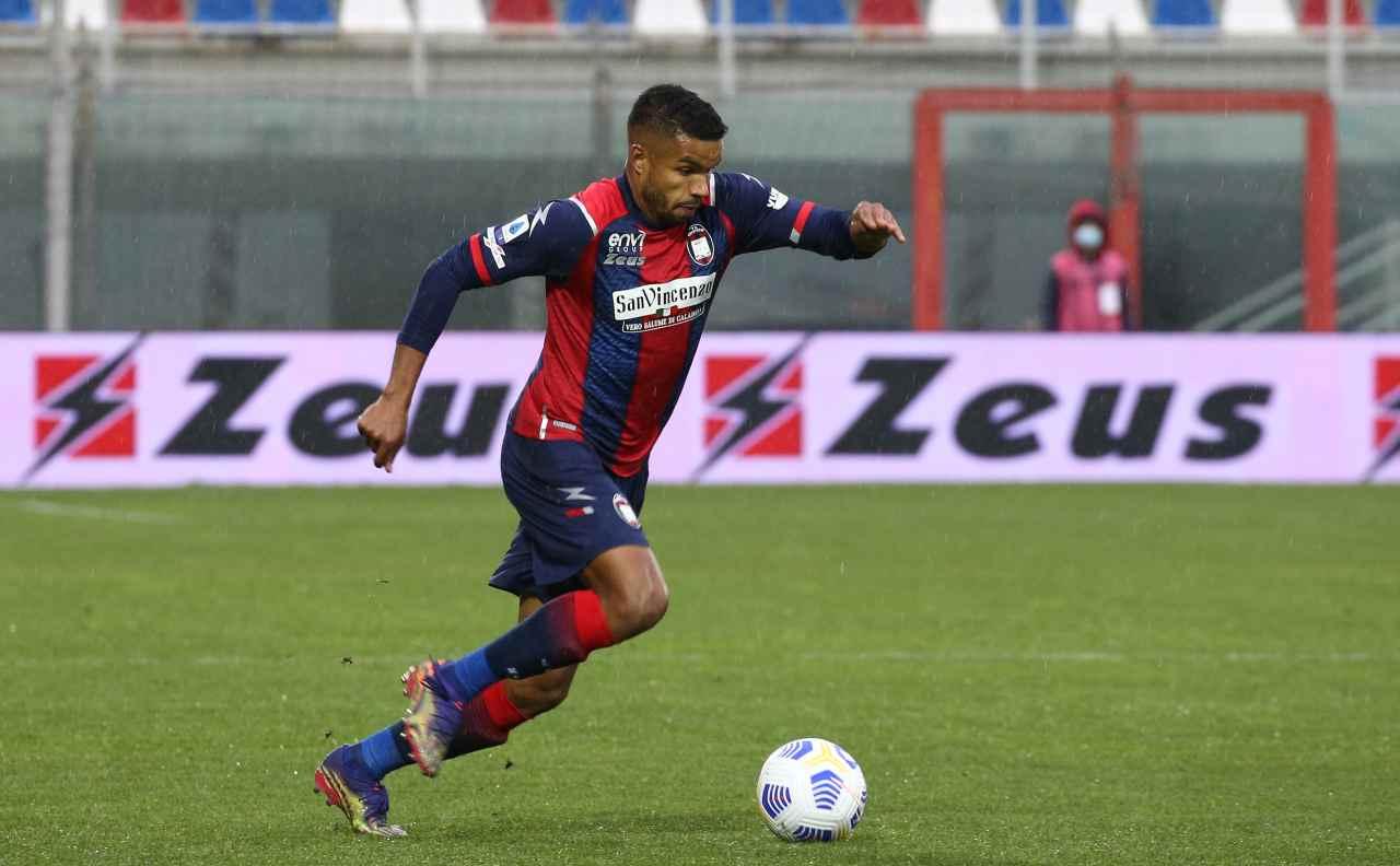 Junior Messias, attaccante del Crotone. Getty Images