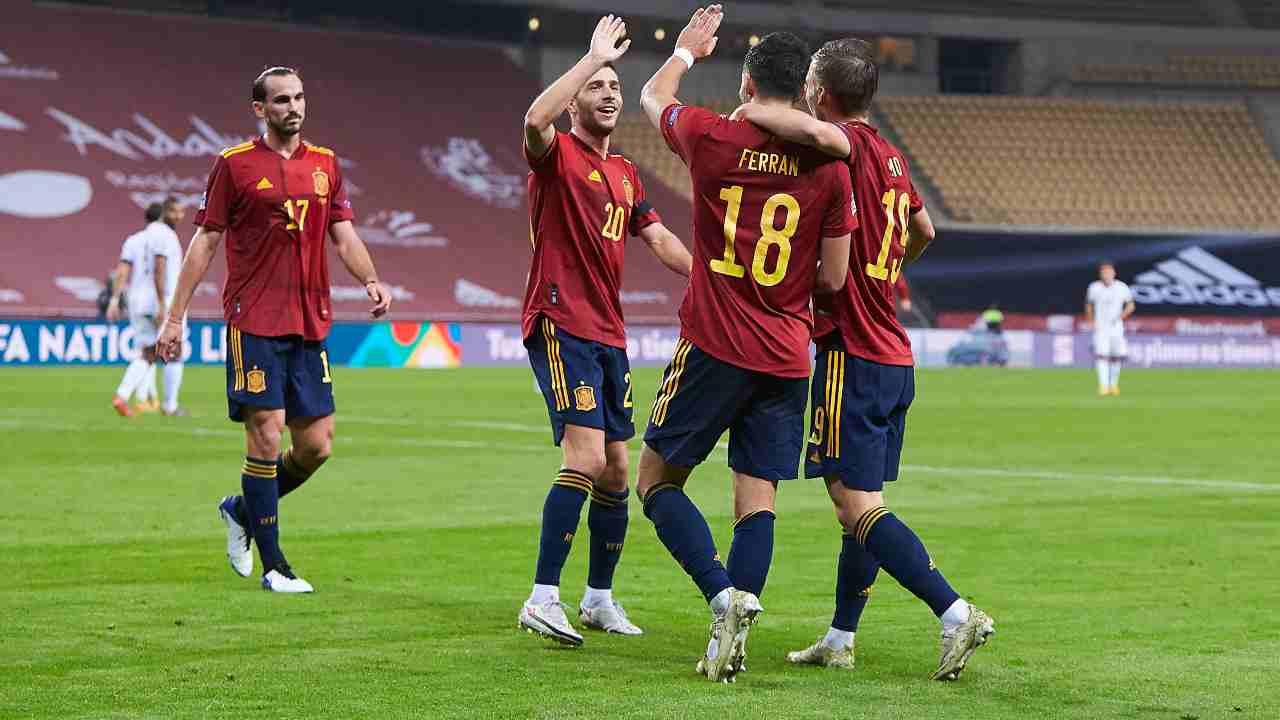 Spagna Grecia diretta streaming