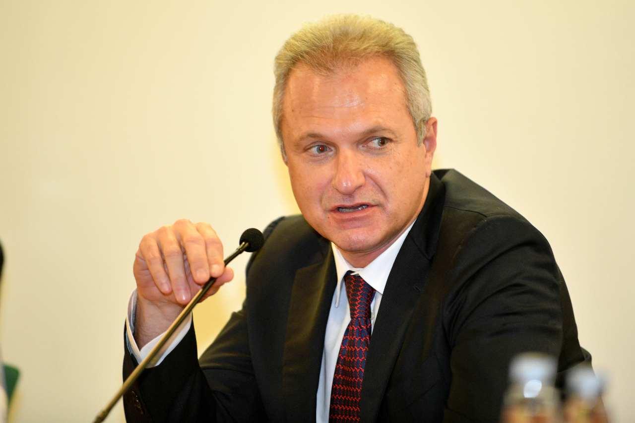 Guido Fienga, amministratore delegato della Roma. Getty Images