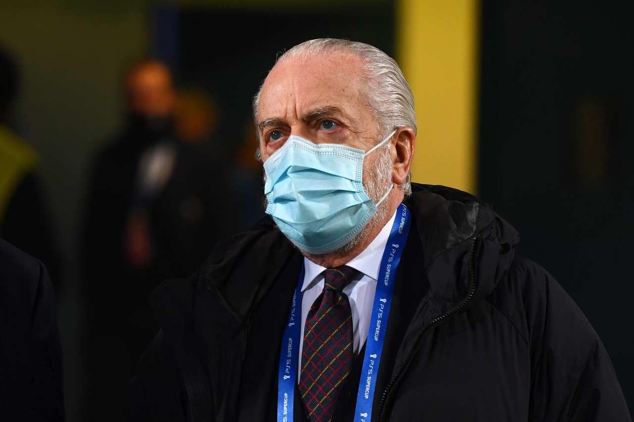 Aurelio De Laurentiis, presidente del Napoli. Getty Images