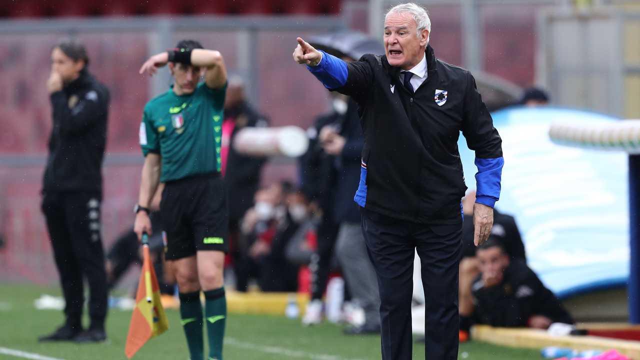 Sampdoria Ranieri derby