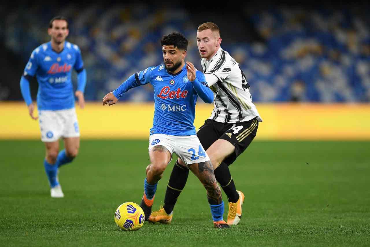 Juventus-Napoli. Getty Images