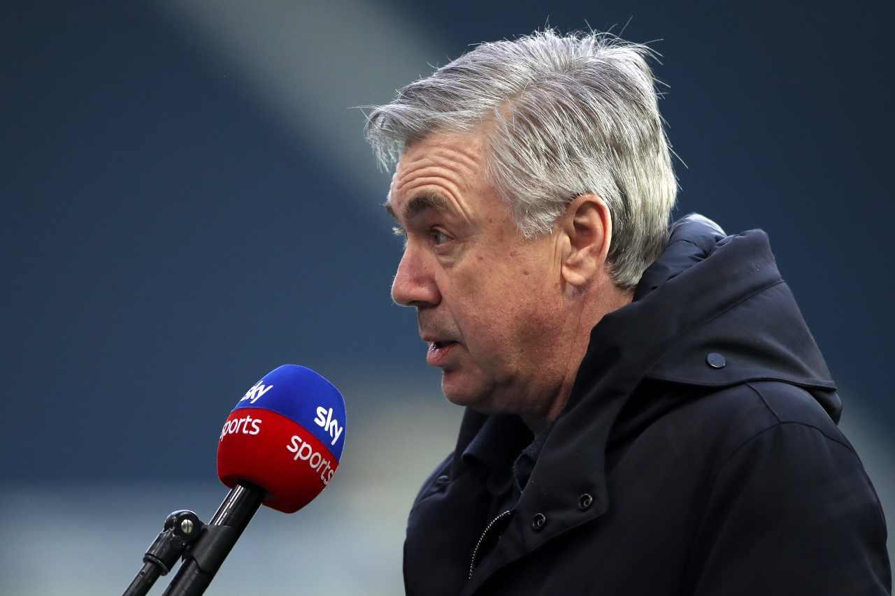 Carlo Ancelotti, allenatore dell'Everton. Getty Images