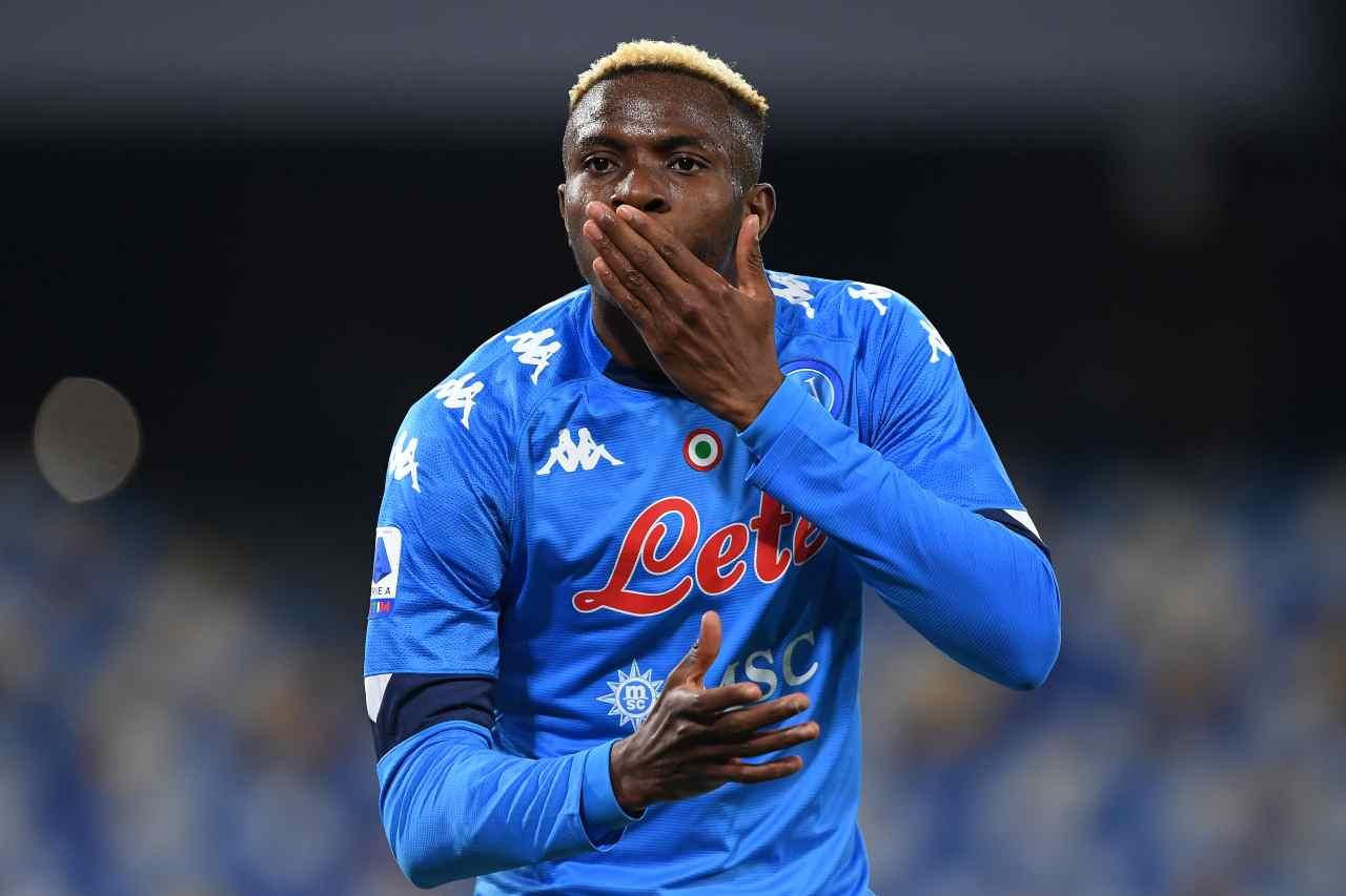 Victor Osimhen, attaccante del Napoli. Getty Images