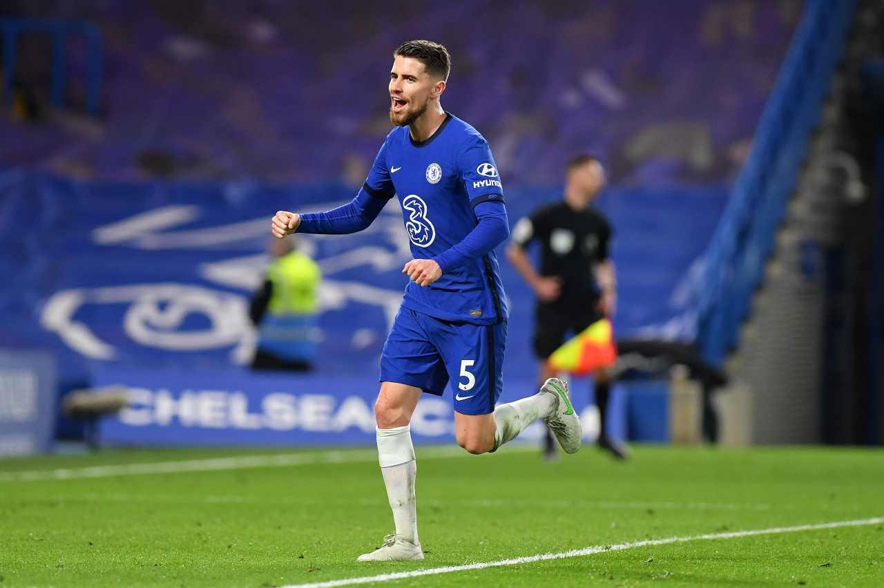 Jorginho, centrocampista del Chelsea. Getty Images