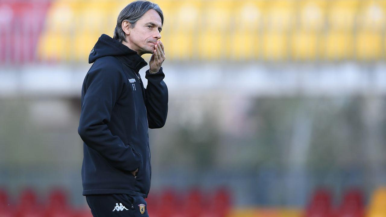 Benevento crisi Inzaghi