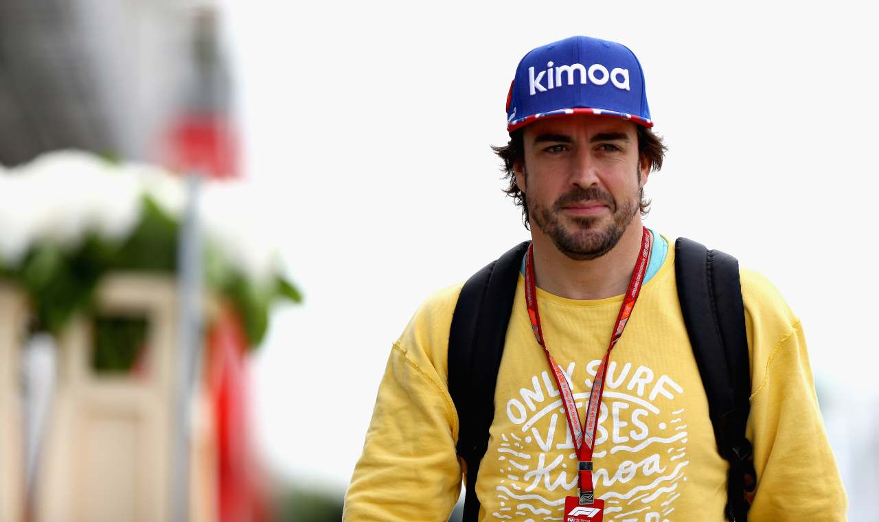 Alonso is back