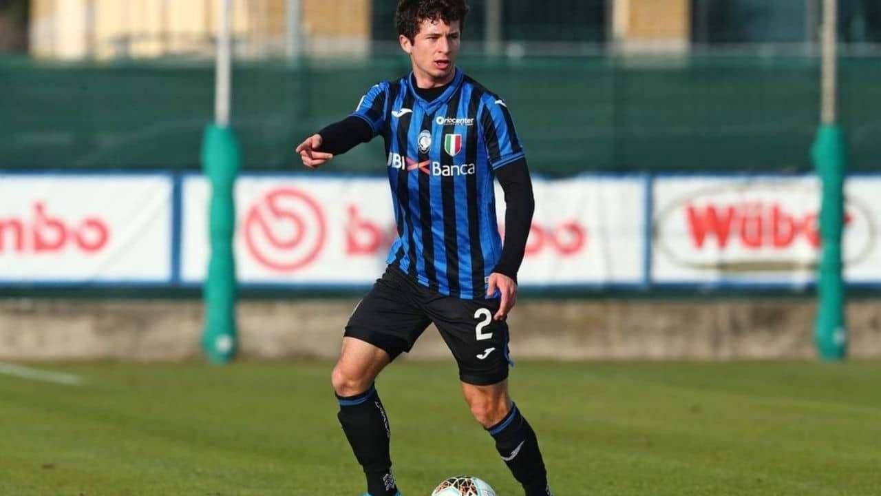Atalanta, il terzino destro Davide Ghislandi (foto © Atalanta Bergamasca Calcio)