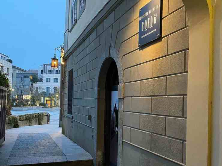 Bergamo, ristorante Boedo in via Sant'Orsola di Papu Gomez e della moglie Linda Raff