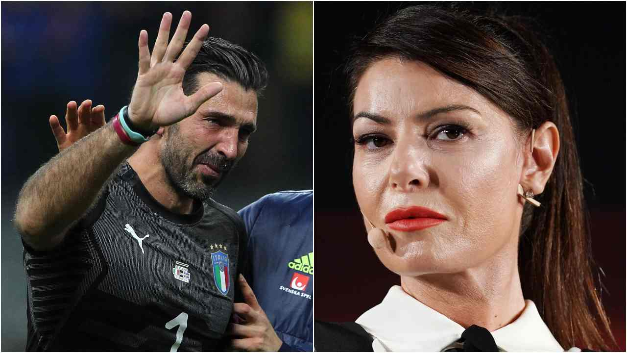 Gianluigi Buffon e Ilaria D'Amico ( (Photo by Vittorio Zunino Celotto/Getty Images)