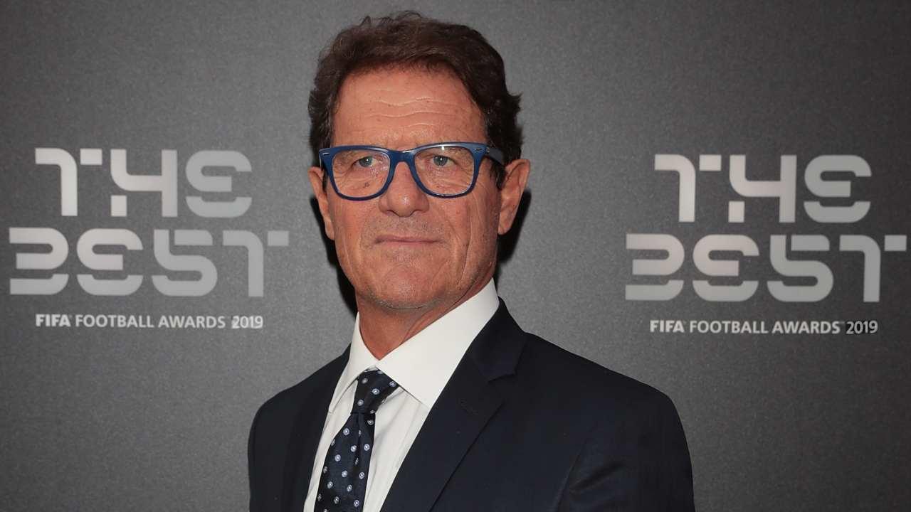 """Fabio Capello sul red carpet del """"The Best FIFA Football Awards 2019"""" del 23 settembre 2019 al Teatro alla Scala di Milano (foto di Emilio Andreoli/Getty Images)"""