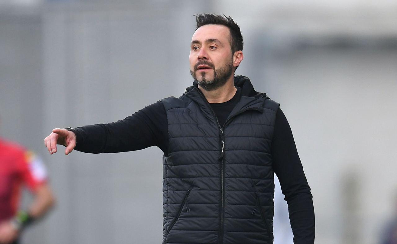 De Zerbi, tecnico del Sassuolo  (Photo by Alessandro Sabattini/Getty Images)